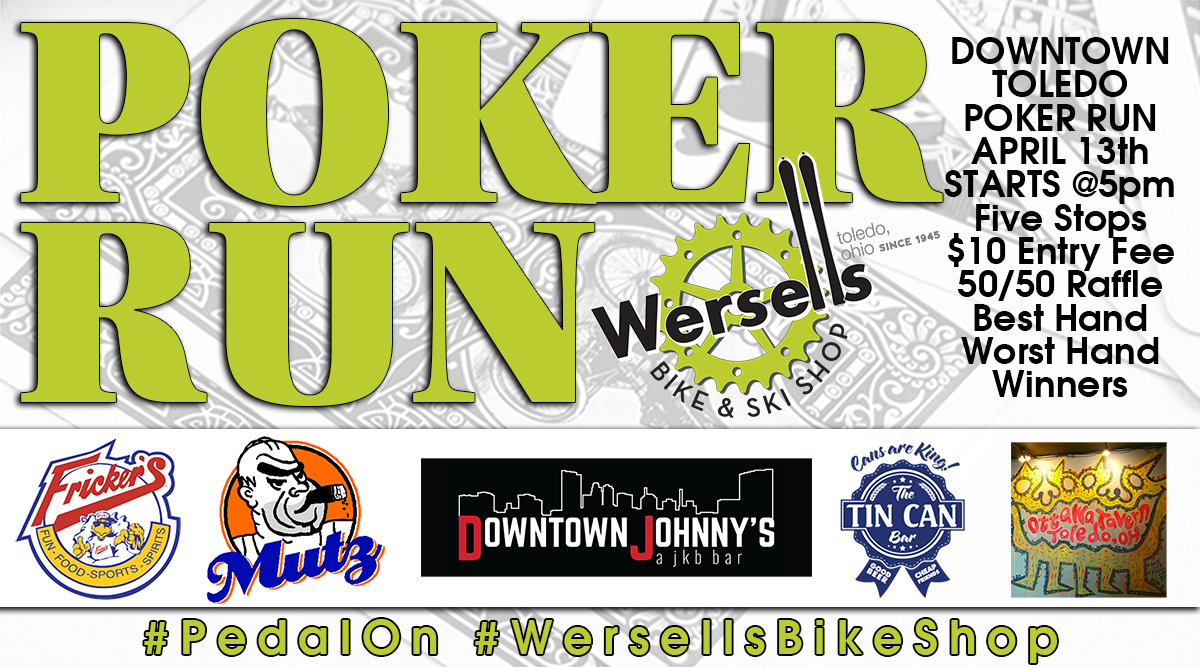 Wersells Bike Shop Poker Ride