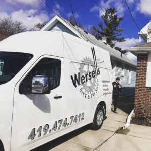 Wersells Bike Shop Mobile Service