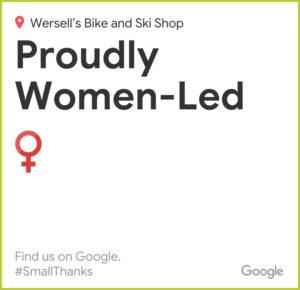 Google Reviews Women Led Wersells Bike Shop