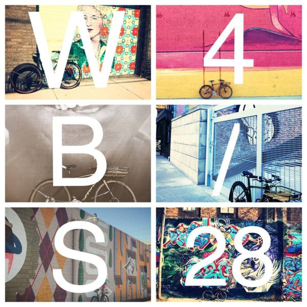 Wersells Bike Shop mural ride