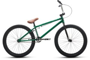 wersells bike shop dk bmx Cygnus-24-green-profile