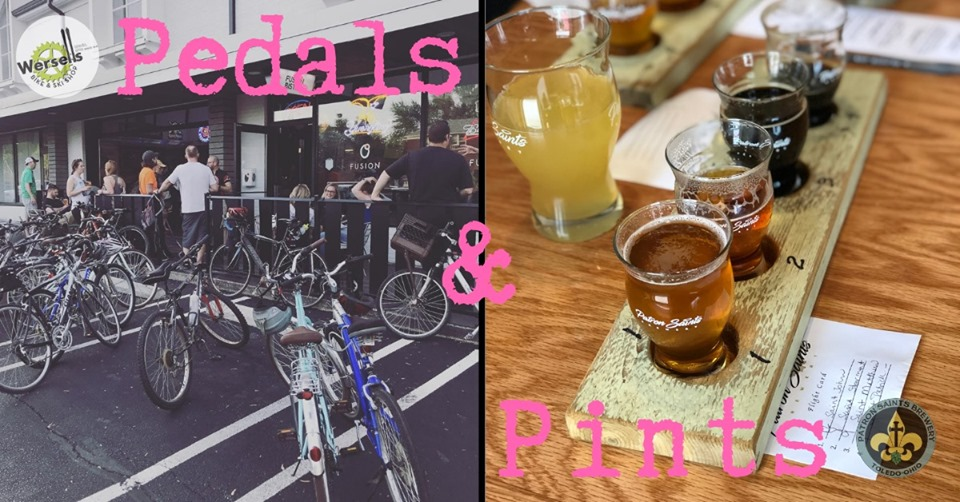pedals and pints wersells bike shop