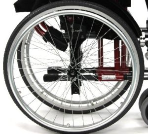 Wersell's Bike Shop Wheel Chair Flat Repair