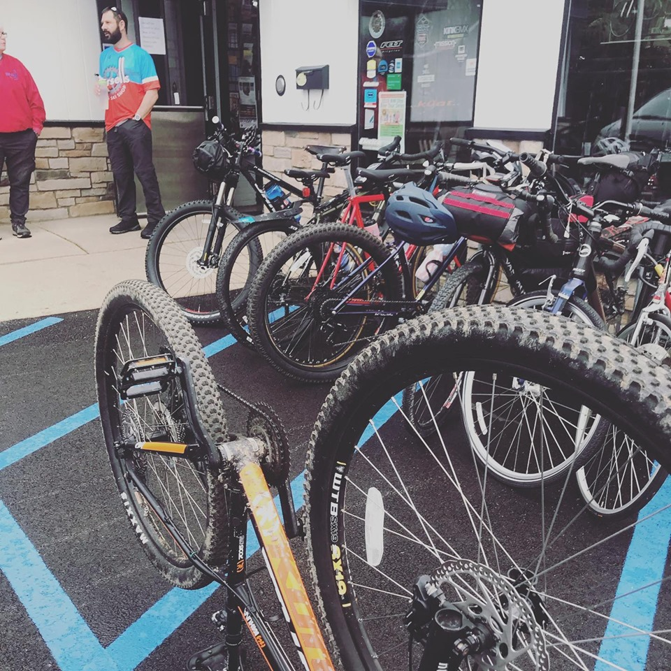 Wersell's Trail to Coffee MTB ride