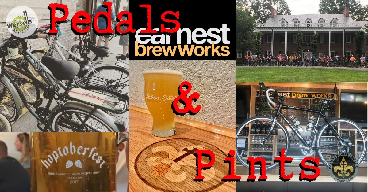 Pedals N Pints Earnest Brew Works