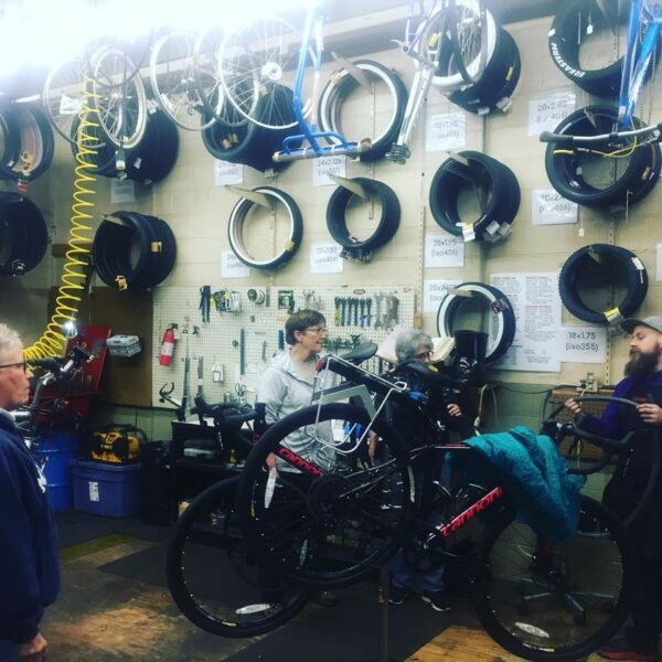 Wersell's Beginners Bicycle Repair Class