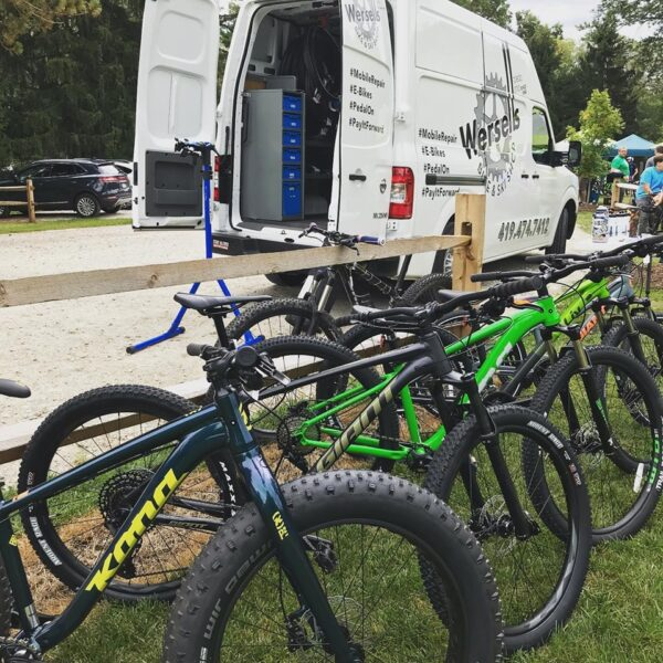 Wersell's Bike Shop mountain bike demo days